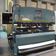 Amada Brake for bending sheet metal fabrication