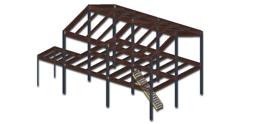 Residential Structural Steel Fabrication