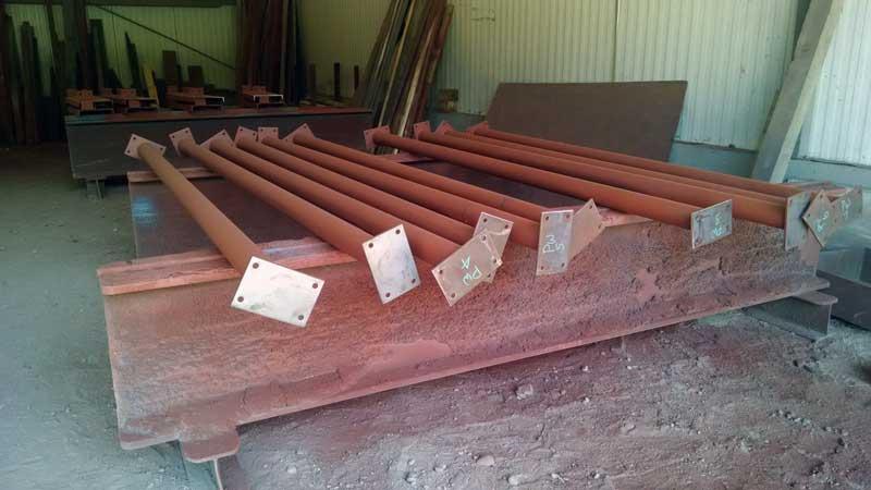 Steel Pipe Columns